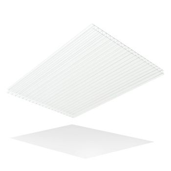 Thermoclear Twin Wall Polycarbonate 10 mm 2100 mm x 5800mm