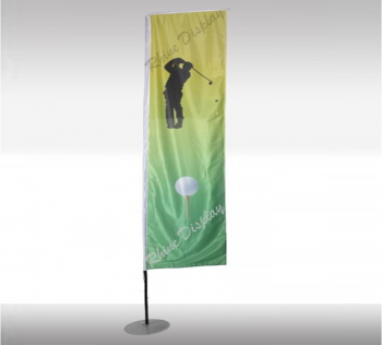 Giant Flag Pole 2.42 Mtrs BANNER SIZE .6 X 2 MTR