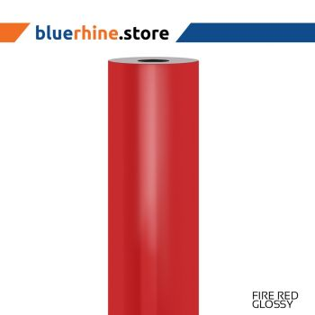Rhinecal Fire Red Glossy Color Vinyl (RC-1028G-TK)