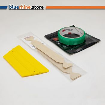 3M Knifeless Tape (3.5mm x 50m) , Yellotools antibacterial Squeegee and Protection felt set