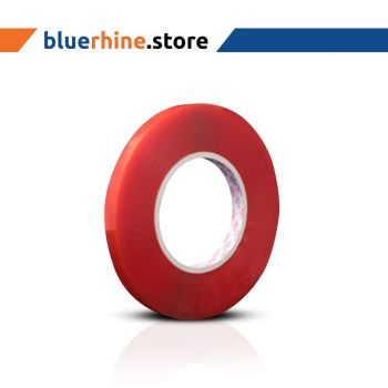 Double Side Red Polyster Tape 9MM X 50MTR