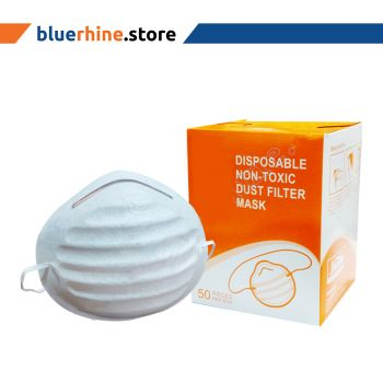 Disposable Non-Toxic Dust Filter Mask (20Pkt/Ctn)