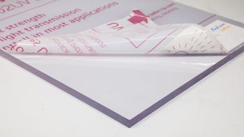 P C 3050 x 2050 x 9.5mm Clear EXELL D